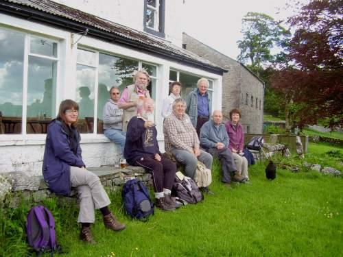 CAMRAmblers at Hill Inn