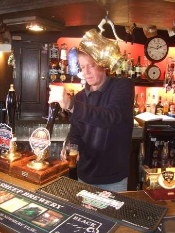 Ian Swindlehurst at the Patten Arms