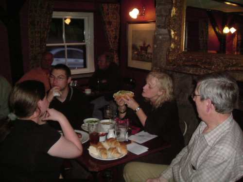 12 August 2005: Our visit to the beer and sausage festival, Queen's Head (Tirril).