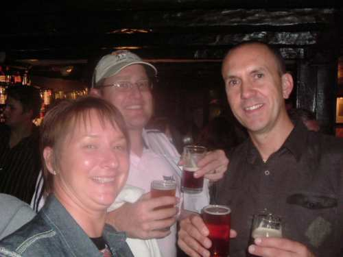 11 August 2006: Our trip to the Beer & Sausage Festival at the Queen's Head (Tirril)