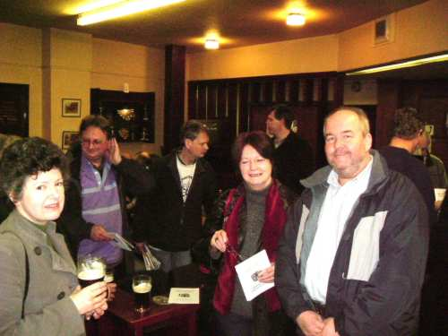 We entertain the Liverpool branch, 4 February 2006