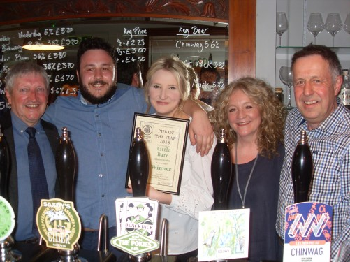 (l-r) Barry, Nick, Ruth, Julie and Val