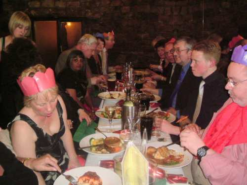 The Lunesdale Branch Christmas Party 2004