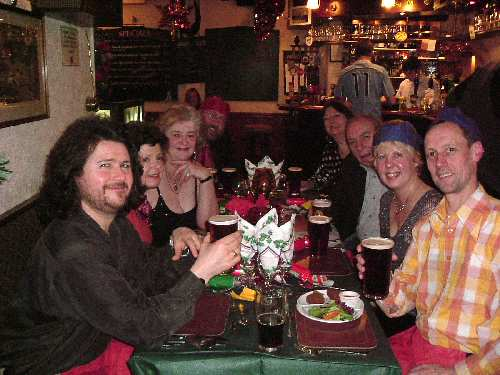 Christmas Dinner, Boot & Shoe (Lancaster), 17 December 2005